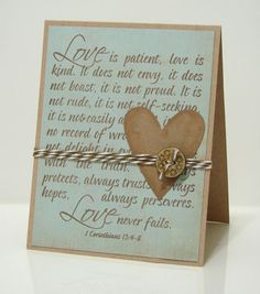 LOVE the scripture stamp and overall layout.  So pretty.