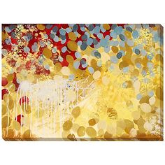 """Current Observation IV 40"""" Wide Giclee Canvas Wall Art"""