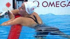 Kylie Masse's Bronze Medal Race in Women's Swimming Backstroke Justin Trudeau, Rio Olympics 2016, Rio 2016, Kylie, Women's Swimming, Canada, Racing, 100m, Sports
