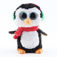 6c69fa2e7ee Original Ty Beanie Boos Big Eyes Plush Toy Doll Husky Cat Owl Unicorn TY  Baby Kids Gift 10-15 cm WJ159. Ty BabiesBaby ...