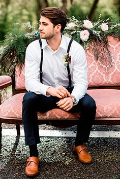 Stylish Groom Attire For Perfect Wedding Day ❤ See more: http://www.weddingforward.com/groom-attire/ #weddings