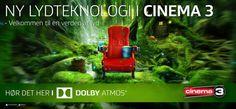 Dolby Atmos - ny lysteknologi i Cinema3