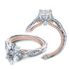 verragio pear diamond ring - Google Search