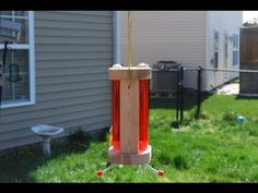 How to make a Hummingbird Feeder. This woodworking project can easily be completed in a few hours. To see more info on this video and other projects check ou...