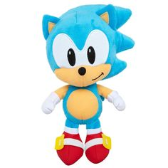 Sonic, Tails, Eggman or Knuckles - who is your favorite? Or do you love 'em all? Sonic Fan Characters, Video Game Characters, Sonic Plush Toys, Check Gift Card Balance, Shadow Sonic, Teddy Bear Toys, Teddy Bears, Eggman, Toys R Us Canada