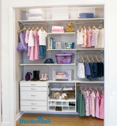 Children's Closets / Children's Closets / Closet Organization Solutions (Our Speciality) - Canadian Closet