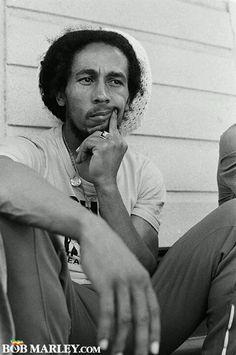 **Bob Marley** 56 Hope Road, Kingston, Jamaica, April 1978. More fantastic pictures, music and videos of *Bob Marley* on: https://de.pinterest.com/ReggaeHeart/ ©Fifty-Six Hope Road Music Ltd.