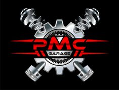 PMC Garage logo design by Start your own logo design contest and get amazing custom logos submitted by our logo designers from all over the world. Logo Garage, Speed Logo, Car Logo Design, Automotive Logo, Motorcycle Logo, Borders For Paper, Car Logos, Car Shop, Logo Sticker