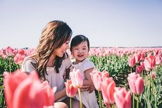 The relationship between a mother and her daughter is quite powerful, unbelievable and indescribable. Nobody in the world has as close and strong bond as a mother and a daughter have. Champs, Spring Photography, Photography Ideas, Newborn Photography, Tulip Fields, Poppy Fields, Mother Daughter Quotes, Tulip Festival, Photo Pillows