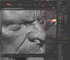 How do I create skin details in ZBrush? | 3D Artist - Animation, Models, Inspiration & Advice | 3DArtist Magazine