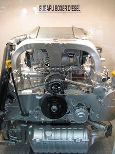 This is a 2008 Subaru Boxer Turbo Diesel Engine