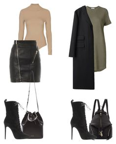 """""""Untitled #140"""" by zaraoutfits ❤ liked on Polyvore featuring Rebecca Minkoff, 321, Topshop, Yves Saint Laurent, Mansur Gavriel and Margaret Howell"""