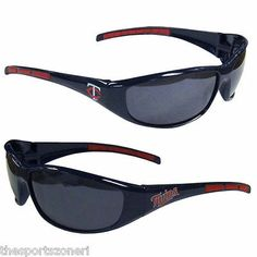 Minnesota Twins Sunglasses Series 3 Visit our website for more: www.thesportszoneri.com