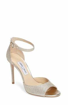 47a22554edc Jimmy Choo Annie Ankle Strap Sandal (Women) Ankle Shoes