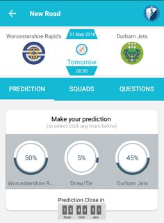 Who will win #worcestershire vs #durhamjets? Stake now  and earn coins. #NatWestT20 #T20
