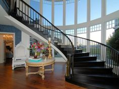 Ozzy & Sharon Osbourne Hidden Hills Home-foyer