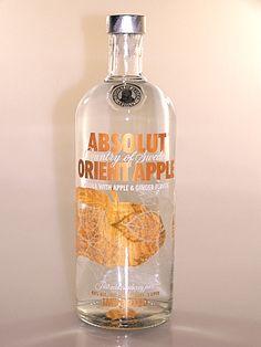 Vodka - Absolut Vodka Orient Apple