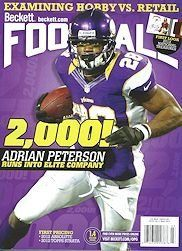 New Beckett Football Monthly Plus Price Guide - Current Month Price Guide by Beckett. $11.95. We will ship the current price guide in stock. New Beckett Monthly Plus Price Guide - Current Month Price Guide. Cover may be different than the image posted. Current Price Guide. New Beckett Monthly Plus Price Guide - Current Month Price Guide