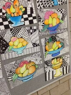 still life children's art lessons - Google Search