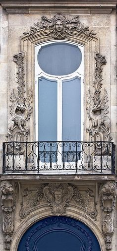 Design Chic: Things We Love: Balconies  SO BEAUTIFUL, French window