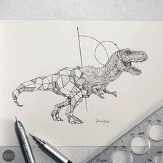 Geometric Beasts - Favorite for future tattoo ideas - Album on Imgur