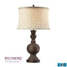 Dimond Arden Dark Oak LED Table Lamp