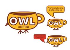 Owl Coffee by Karol Miekina, via Behance