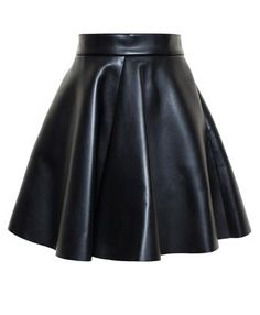 MSGM - Faux Leather Skirt