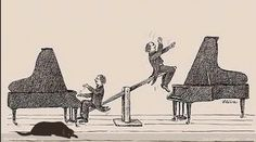 Rawicz & Landauer - taking their two piano duets to new heights. Good Music, My Music, Music Stuff, Live Music, Music Images, Music Pictures, Classical Music Humor, Music Jokes, Music Humour