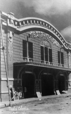 Guillermo Lemos Ruiz. Teatro Colombia. FOTOS ANTIGUAS SANTIAGO DE CALI.