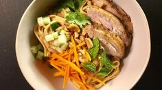 Udon Bowl with Peanut Sauce and Grilled Chicken Recipe | The Chew - ABC.com