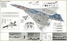 Post with 18 votes and 7039 views. Concorde technical drawing by Theo Page Jet Engine For Sale, Engines For Sale, Sud Aviation, Civil Aviation, Air France, Concorde, Rolls Royce, Passenger Aircraft, Vintage Poster