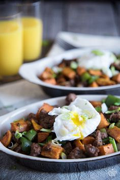 Breakfast Hash With Sausage And Eggs