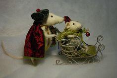 new year mice by Natasha Fadeeva, via Flickr