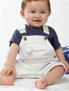 Teddy Bear Picnic Boy outfit! I love overalls on babies!