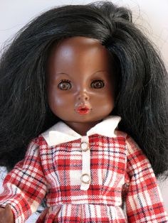 Maria, a friend doll to the popular Danish doll Pusle, anatomically correct child doll, Denmark, 1970, initially produced by Italian firm Ratti, later taken over by Mattel's Italian S.P.A. subsidiary.