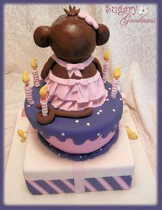 Monkey Cake (back) by Sugary Goodness (Kim), via Flickr