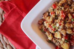 Recept: Bloemkoolrijst met Kip en Appel