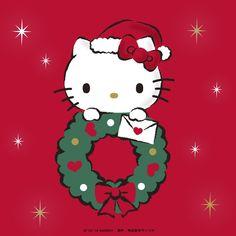 Hello Kitty Hello Kitty Christmas Tree, Cartoon Christmas Tree, Christmas Cartoons, Christmas Cats, Merry Christmas, Xmas, Hello Kitty Clipart, Hello Kitty Themes, Hello Kitty Pictures