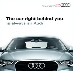 audi ad by malc_smith, via Flickr