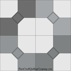 Moda Blockheads 2017 Free Block of the Week Pattern