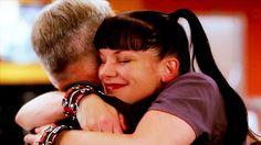 Abby loves her Gibbs hugs :D