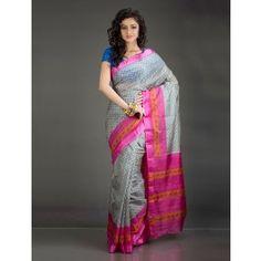 Aaradhya Bel Patterned Printed Silk Saree