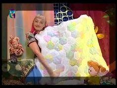Лоскутное шитье. В технике английского шитья по шаблонам, шьем сумки, одеяло, подушку. Мастер класс - YouTube