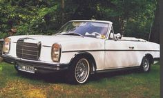 Why didn't the factory make a Mercedes Benz 250c / 280c convertible?
