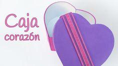 Manualidades para San Valentín: CAJA corazón de goma eva - Innova Manual...