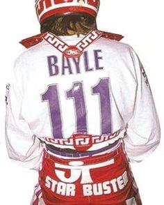 jean michel Bayle 1989 #oxbowpeople #teamhondahrc#badbayle#starbuster#jeanmichelbayle#mxworldchampion#jeanmichelbayle111