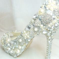 Shoes to wear to reception after first dance of course with a cute shorter white party dress :) if only $$$$$