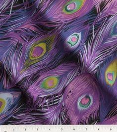 40e402faef1 Peacock Purple   Pink Chiffon Fabric   apparel fabric