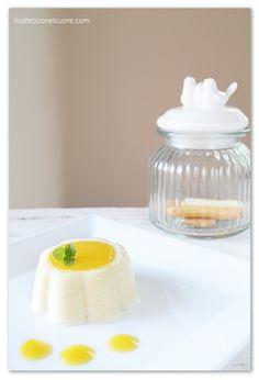 almond-milk-pudding Almond Milk Pudding, Sicilian Recipes, Dessert Recipes, Desserts, Gluten Free Recipes, Panna Cotta, Eggs, Ethnic Recipes, Glutenfree